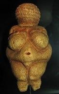 feminine shaped stone carving