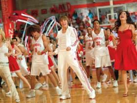 High school musical cast dancing