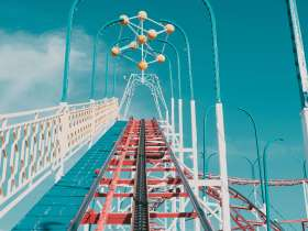 Editor letter view from roller coaster