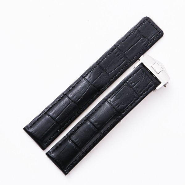 Tag Heuer Black Watch Band Strap