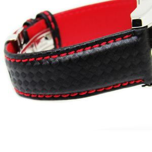 21 Carbon Fiber Leather Watch Strap
