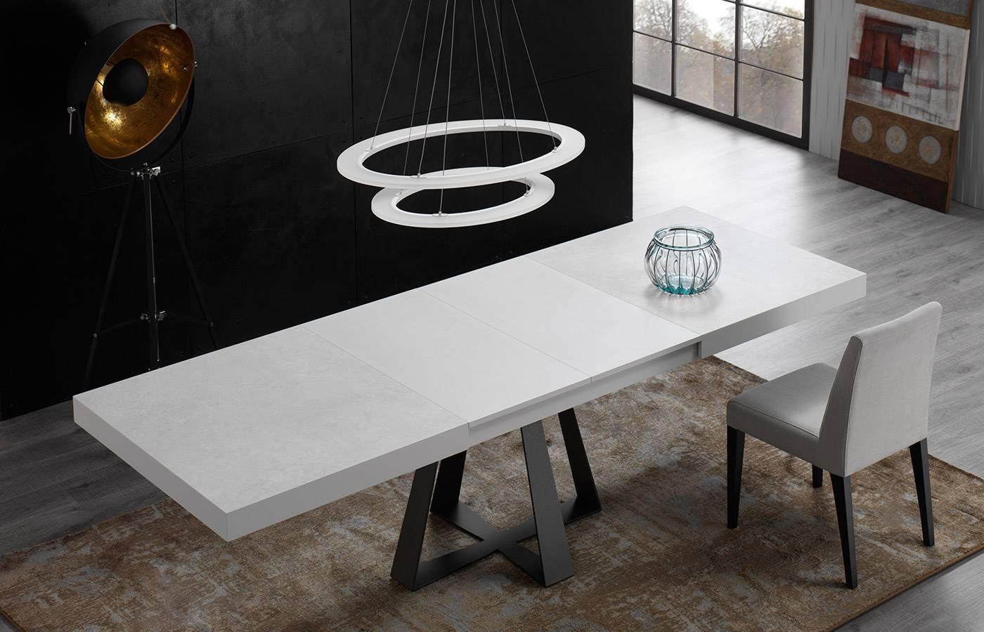 Mesa de comedor Six Porcelnico o Cristal  Dismobel