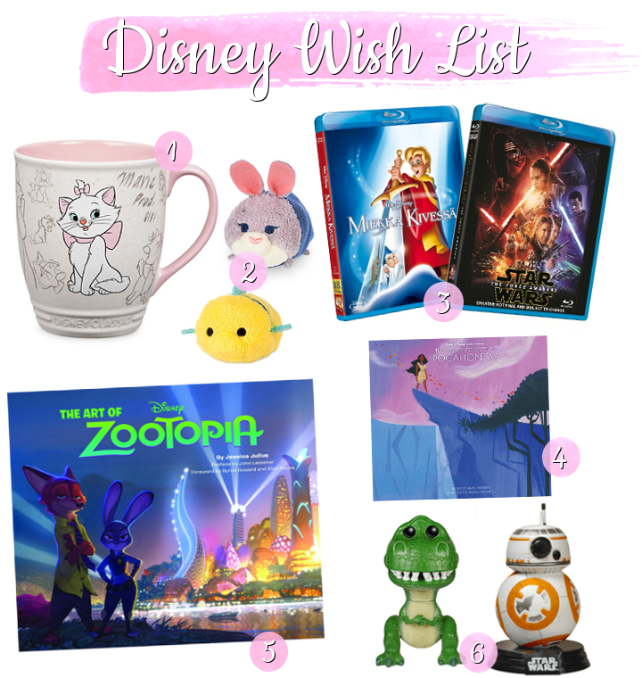 Disney wish list 2016