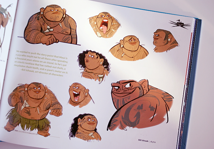 The art of Moana Maui