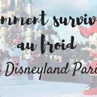 Comment survivre au froid à Disneyland Paris