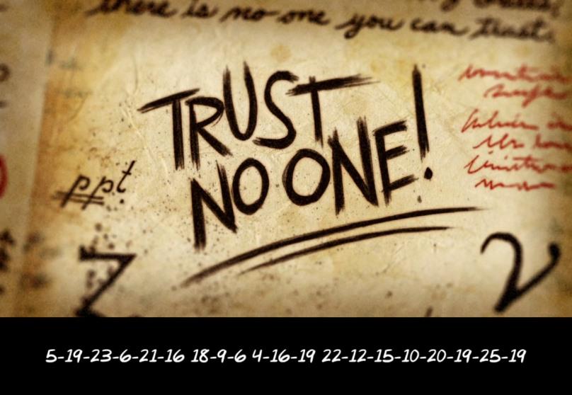 Gravity Falls Trust No One Wallpaper Les Messages Secrets Des G 233 N 233 Riques De Souvenirs De