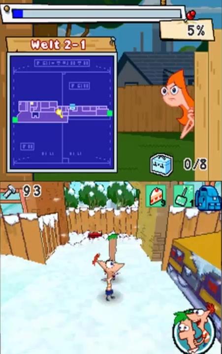 Phineas Et Ferb Le Jeu : phineas, Phinéas, Ferb,, Vidéo, Disney-Planet