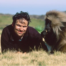 Director Mark Linfield and Friend