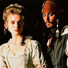 Elizabeth Swann and Jack Sparrow