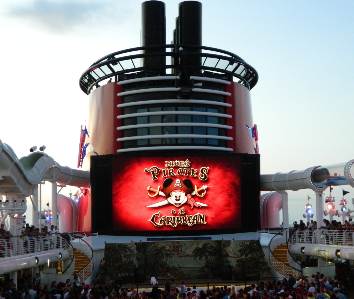 What is Pirate Night on the Disney Cruise Line?