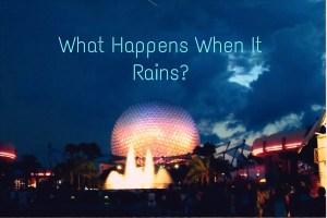 epcot rain text
