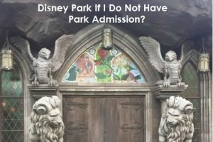 Can I Make A Dining Reservation for a Restaurant Inside a Disney Park if I do not have park admission? 5
