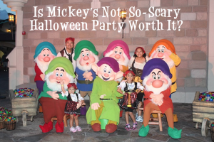 Is Mickey's Not-So-Scary Halloween Party Worth It? 1