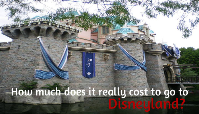 How much does it REALLY cost to go to Disneyland?