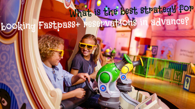 What is the best strategy for booking Fastpass+ reservations in advance?