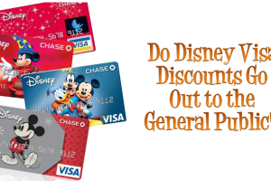 Do Disney Visa Discounts Go Out to the General Public? 1