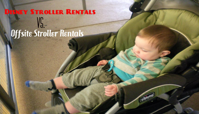 Should I rent a stroller from Disney or an offsite rental company?