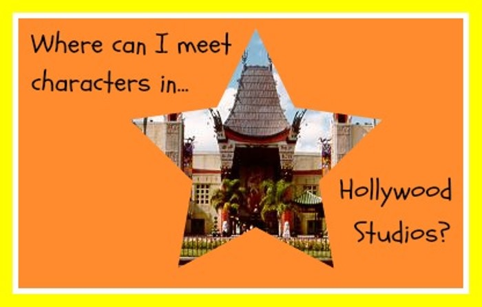 Where can I meet Disney Characters in Hollywood Studios?
