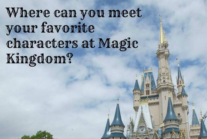Where can you meet your favorite characters at Magic Kingdom?