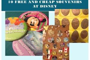 10 Free or Cheap Souvenirs at Disney 5