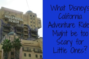 What Disney's California Adventure Rides Might be too Scary for Little Ones? 9