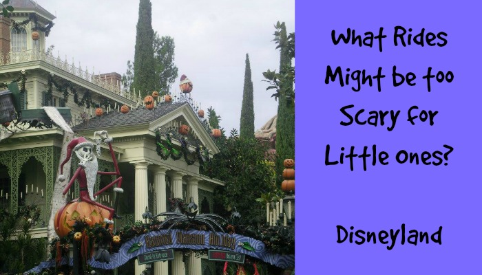 What Disneyland Rides Might be too Scary for Little Ones?