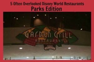 5 Often Overlooked Disney World Restaurants: Parks Edition 8