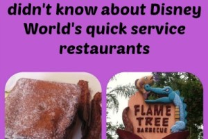 Top 5 tasty secrets you didn't know about Disney World's quick service restaurants 4