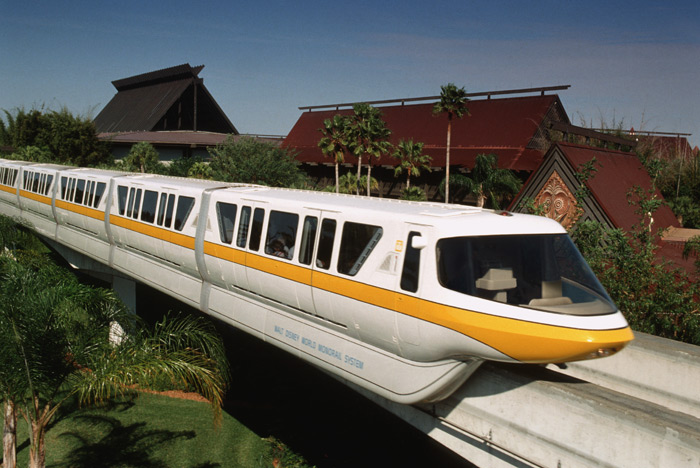 Monorail Route