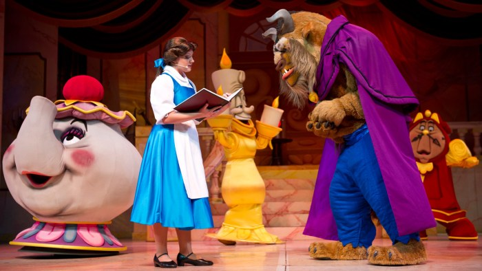 Disney World Beauty and the Beast