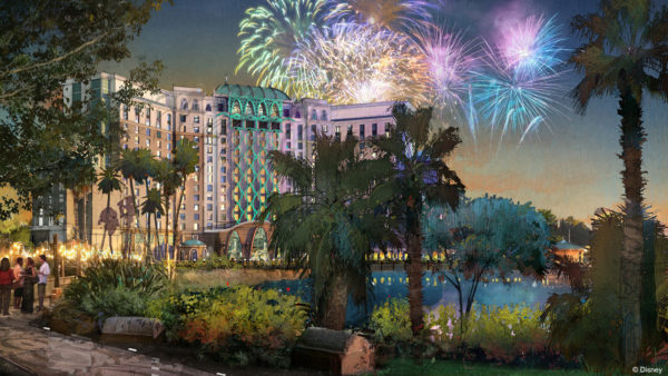 Disney Resort Upgrades