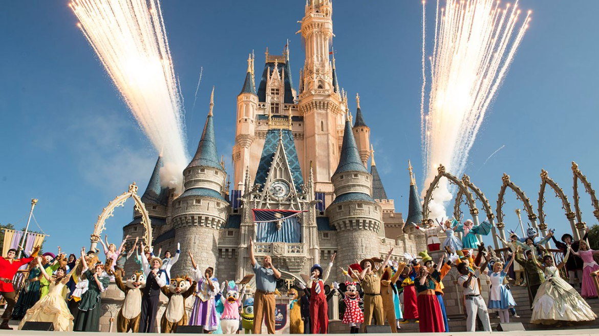 What is Rope Drop at Walt Disney World?
