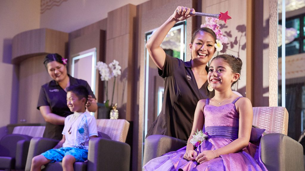 Is There A Bibbidi Bobbidi Boutique at Aulani, a Disney Resort and Spa?