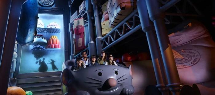 Ratatouille ride