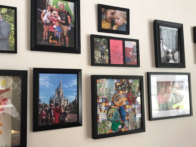 Disney DIY – Create Your Own Trip Momento Display!