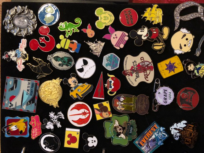 Disney's Pin Trading Sub-Culture: Getting Down To Basics