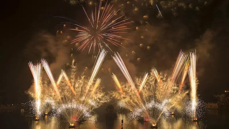 New Year's Eve Fireworks at Walt Disney World