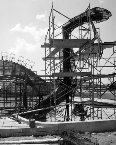 Dinosaur Gertie construction
