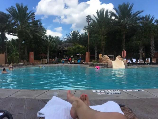 Animal Kingdom lodge pool