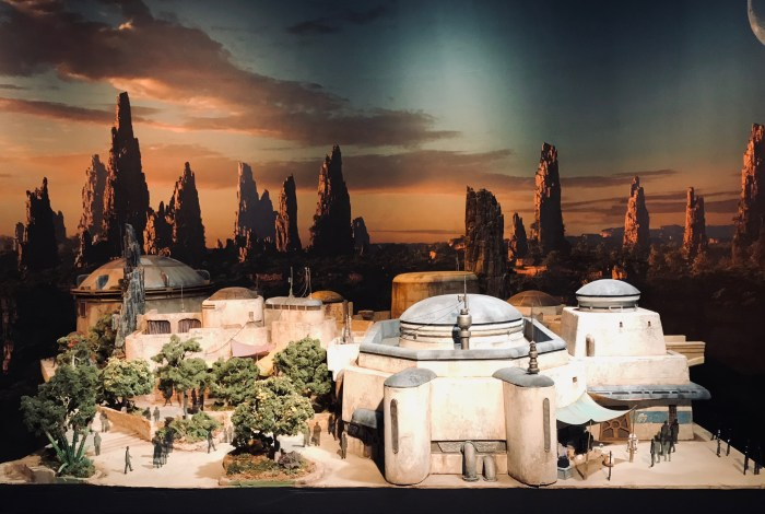 Star Wars Land 3D model opening in 2019