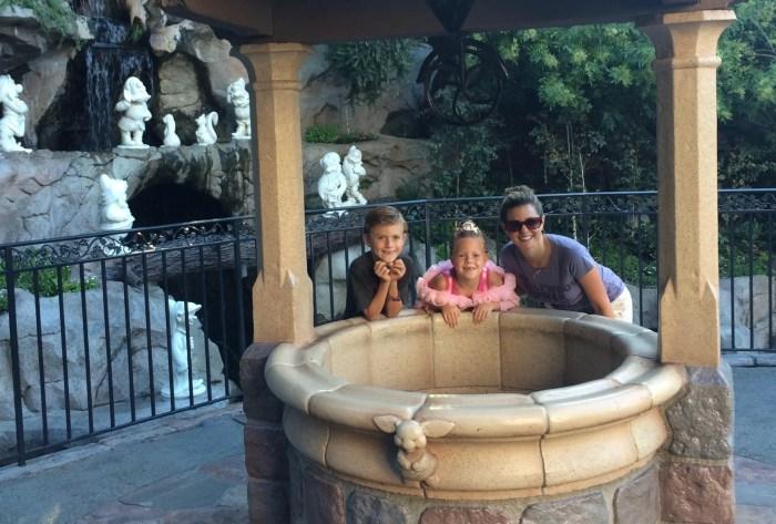 Snow White's Wishing Well in Disneyland