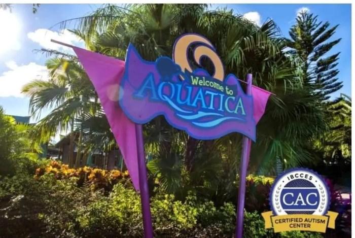 SeaWorld Orlando's Aquatica: First Water Park Designated as a Certified Autism Center 2