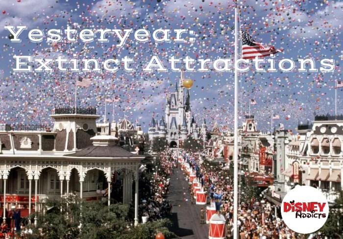 Extinct ride at want Disney world