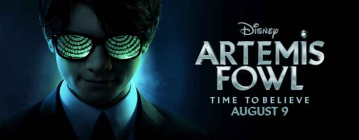 Artemis Fowl Movie in theaters August 9