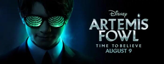 Artemis Fowl Movie in theaters August 9