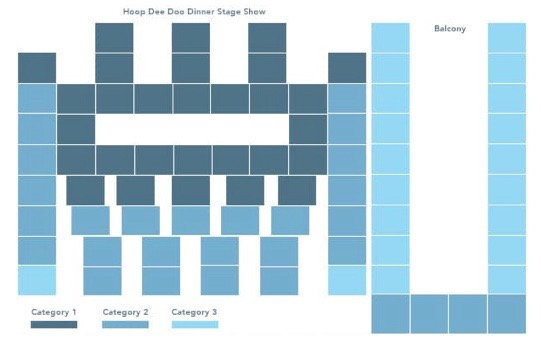 Hoop-dee-doo seating chart