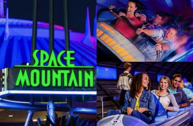Space Mountain Smackdown - WDW vs. DL 1