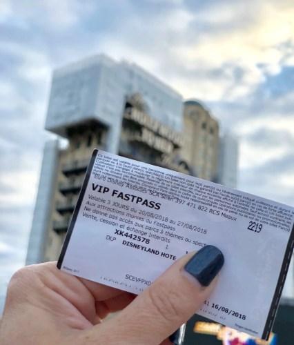 VIP FastPass Disneyland Paris