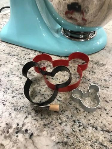 Mickey shape cutters