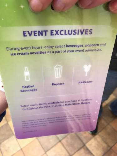 Disney After Hours Event Exclusives